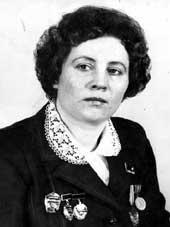 Щербакова Мария Павловна.